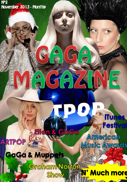 Gaga Magazine - 2th Edition - November 2013