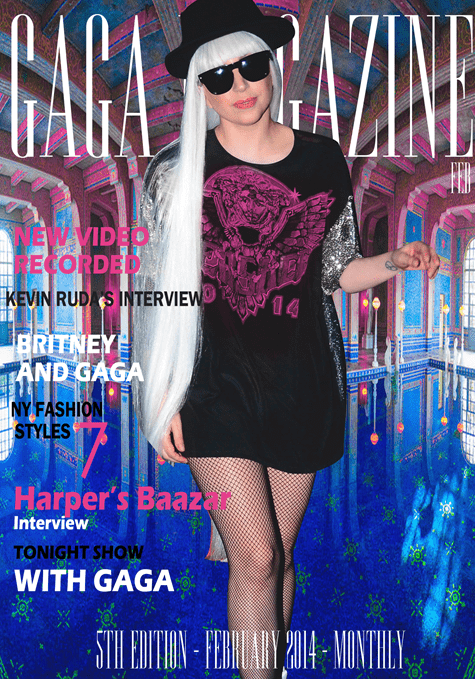 Gaga Magazine - 5th Edition - February 2014
