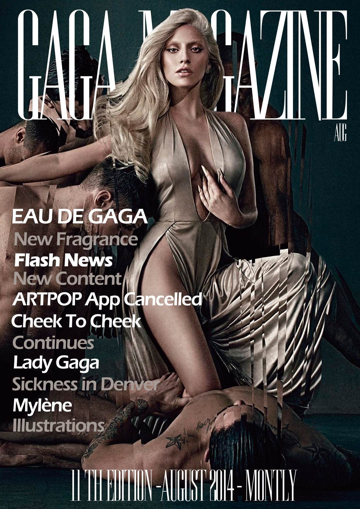Gaga Magazine - 11th Edition - August 2014