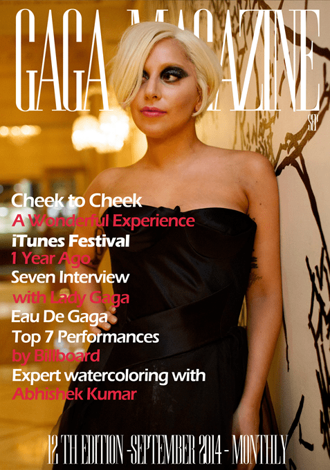 Gaga Magazine - 12th Edition - September 2014