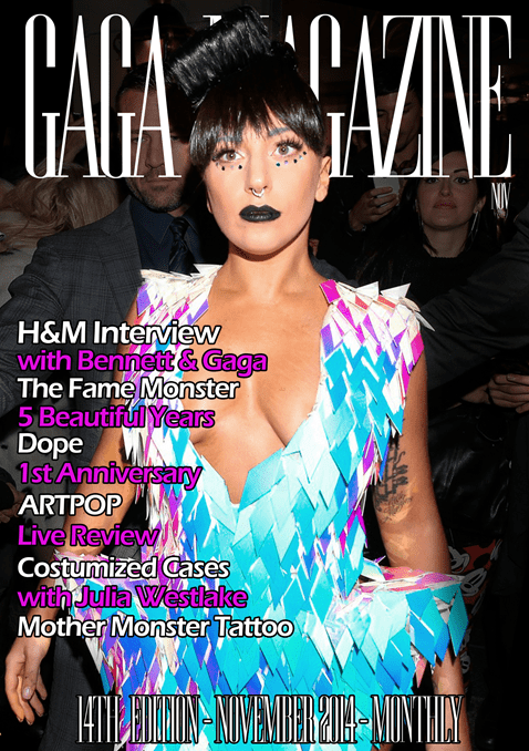 Gaga Magazine - 14th Edition - November 2014