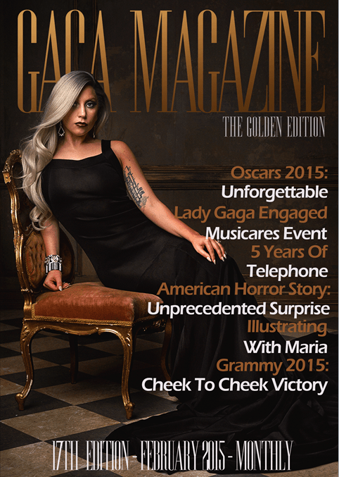 Gaga Magazine - 17th Edition - February 2015