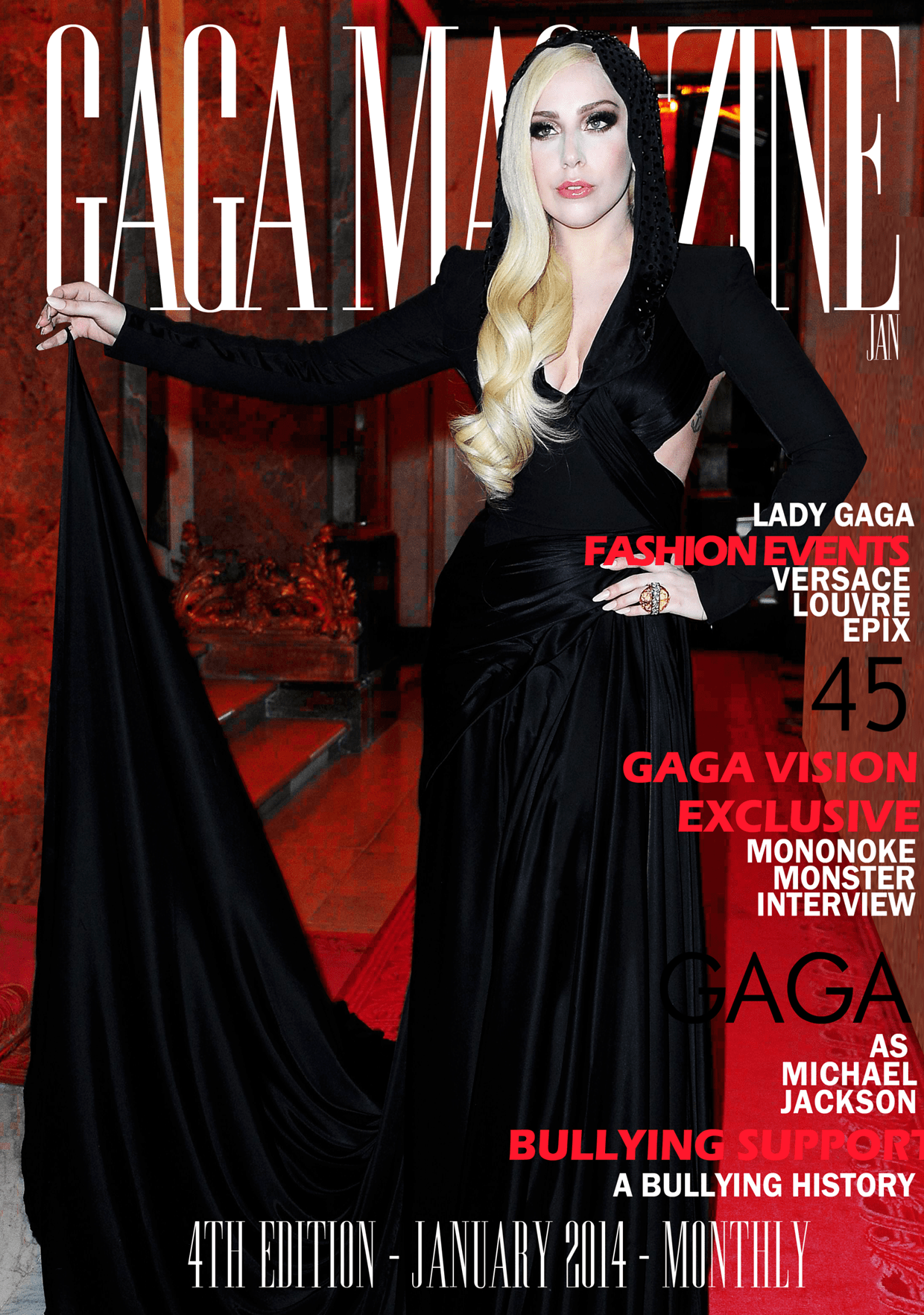 Gaga Magazine - 4th Edition - January 2014