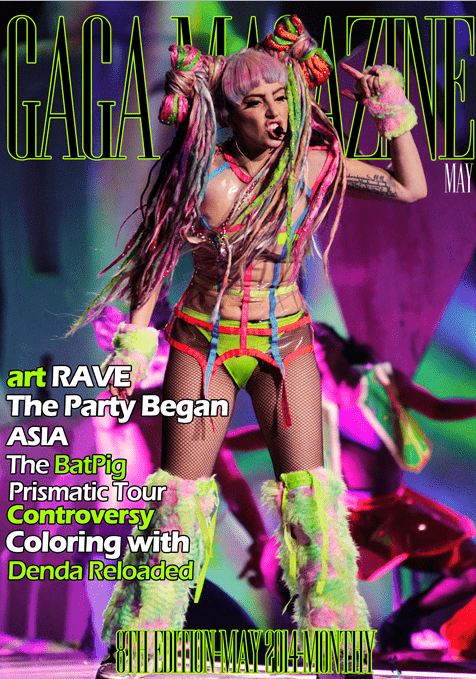 Gaga Magazine - 8th Edition - May 2014
