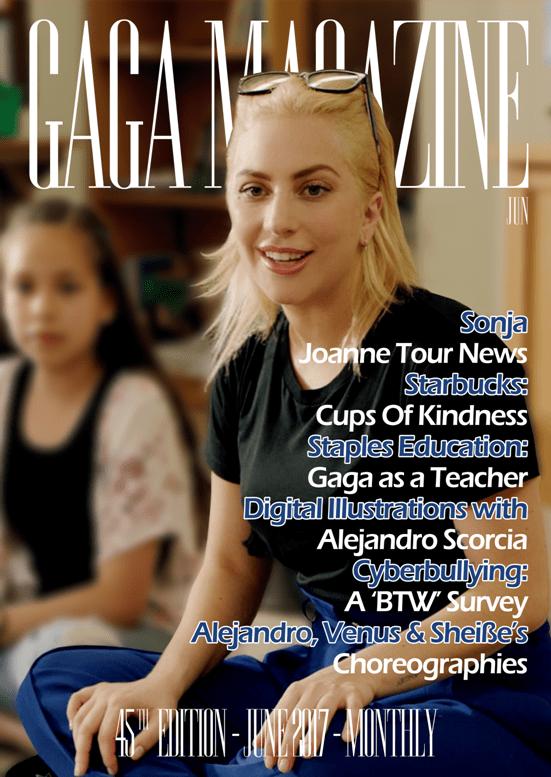 Gaga Magazine - 45ª Edição - Capa - (Inglês)