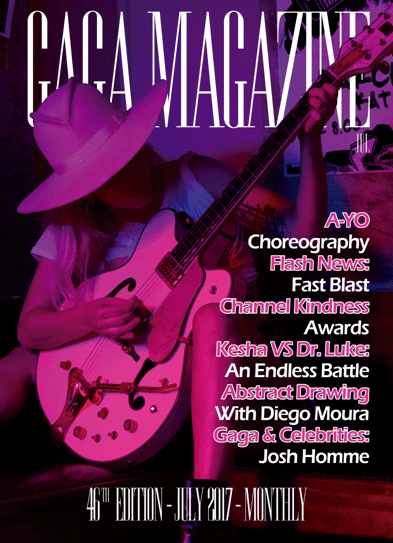 Gaga Magazine - 46ª Edição - Capa - (Inglês)