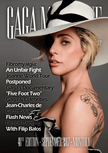 Gaga Magazine- 48ª Edição - Capa (Pequena)